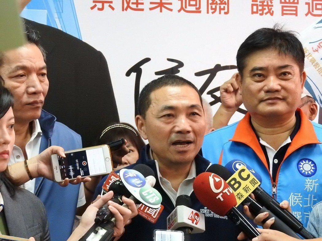 國民黨新北市長參選人侯友宜。圖/聯合報資料照片