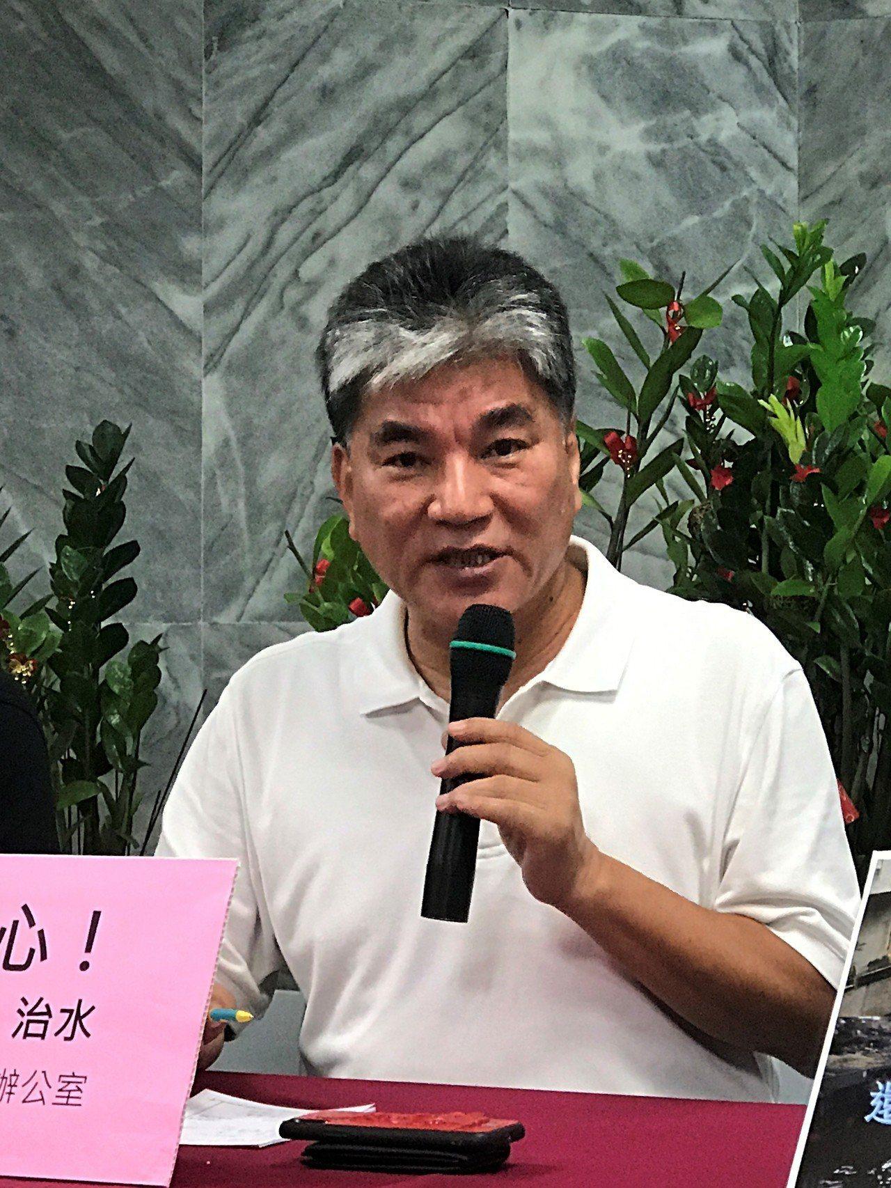 國民黨高雄市長參選人韓國瑜邀李鴻源南下治水,傳出他要找李當副市長,李鴻源說,那是...