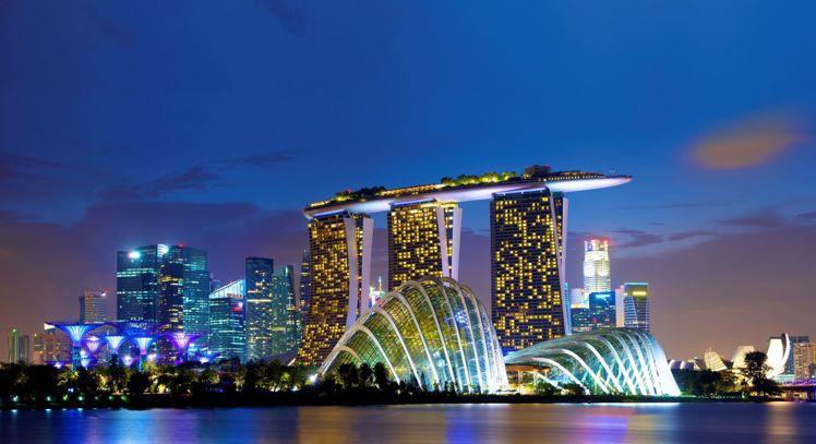 濱海灣金沙酒店已成為星國地標之一。圖/新加坡旅遊局提供