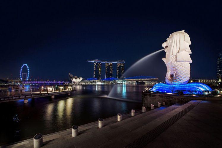 魚尾獅公園是所有旅客赴新加坡必遊之地。圖/新加坡旅遊局提供