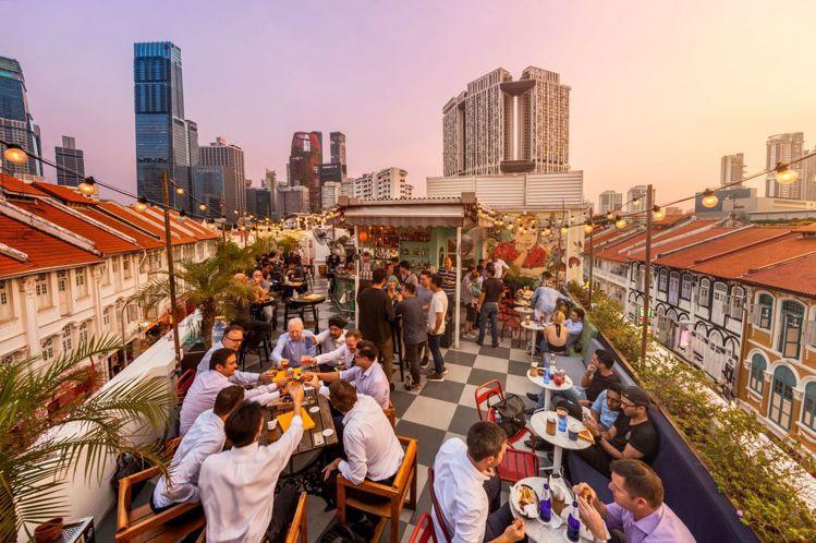 安詳山擁有許多人氣酒吧。圖/新加坡旅遊局提供