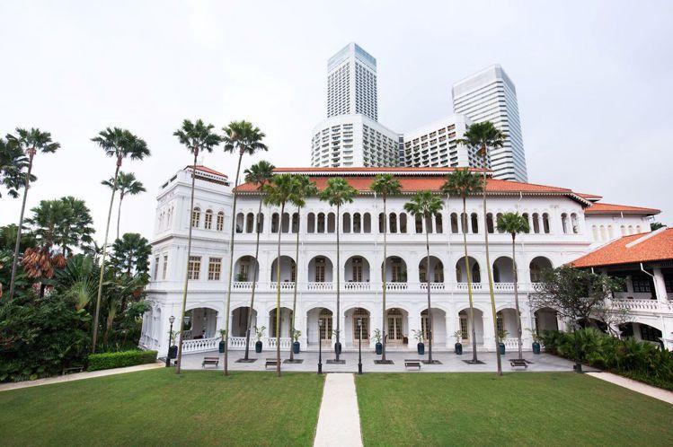 萊佛士酒店為新加坡歷史悠久的飯店。圖/新加坡旅遊局提供