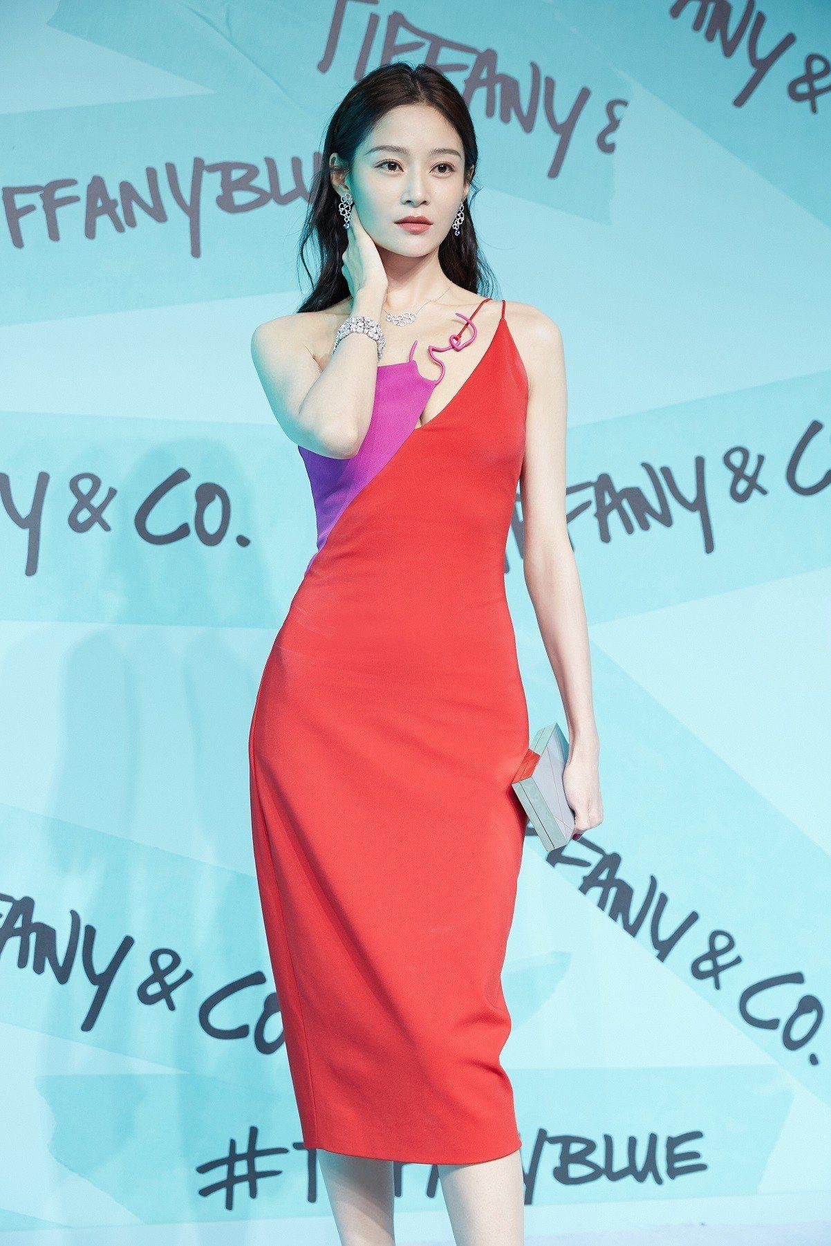 「延禧攻略」劇中飾演「純妃」而受到注目的王媛可出席Tiffany Paper F...