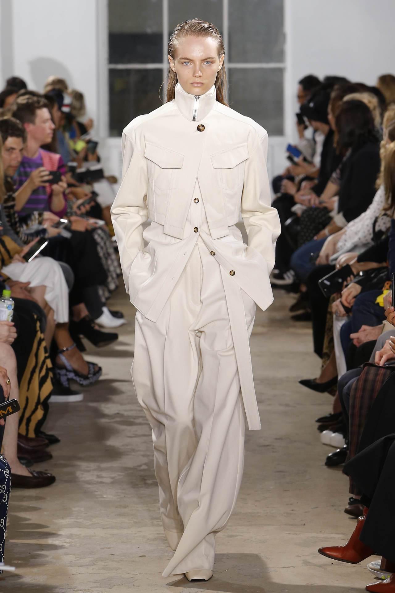 實穿的美式風格是Proenza Schouler 2019春夏主題。圖/Proe...