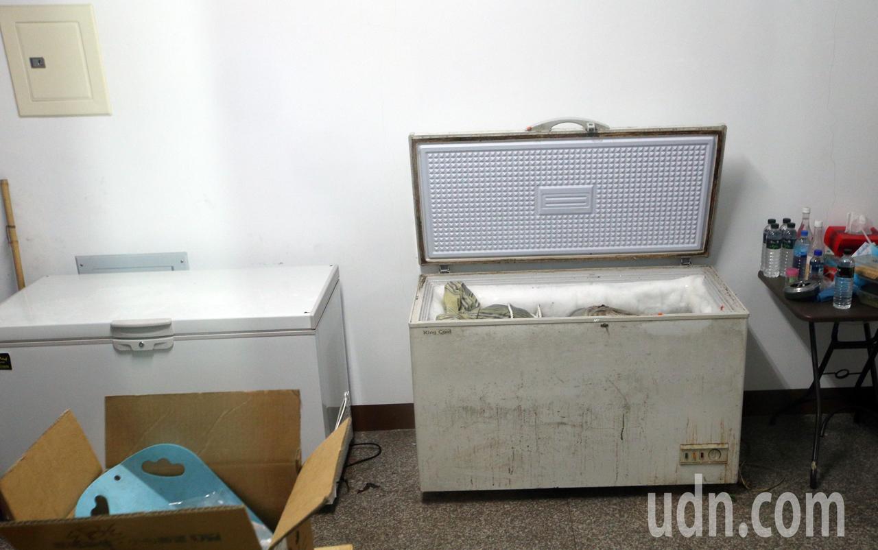 冰櫃藏屍,案情又有新變化。記者劉學聖/攝影