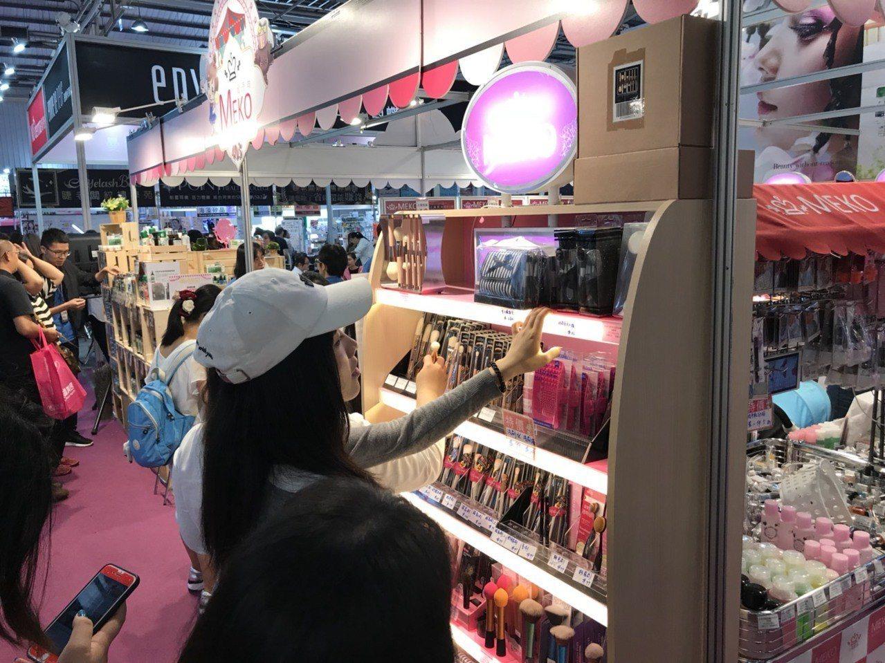 2018台北秋冬國際美容化妝品展即將於9月13日登場,是搶買美妝品的好時機。圖/...