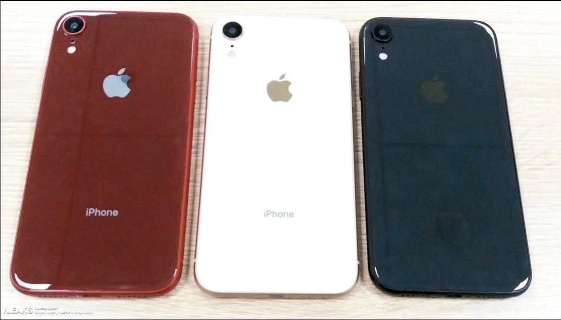 6.1吋LCD版iPhone原型機流出照 網路照片