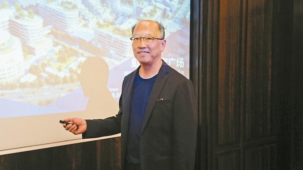 麗寶(上海)房地產開發總經理陳志鴻 陳美玲/攝影