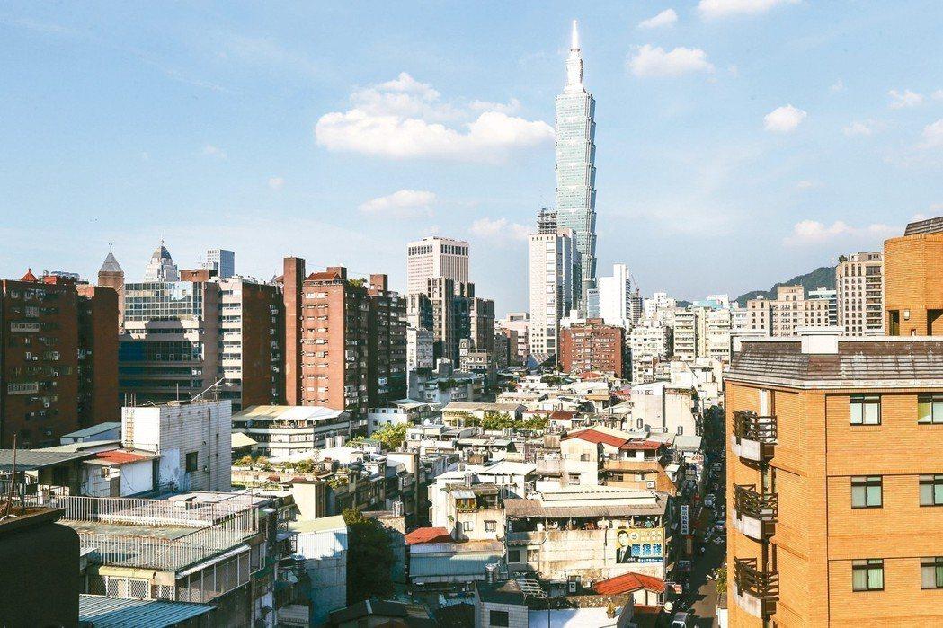 台北市去年有35.2%的建物交易是30年以上老屋。 報系資料照