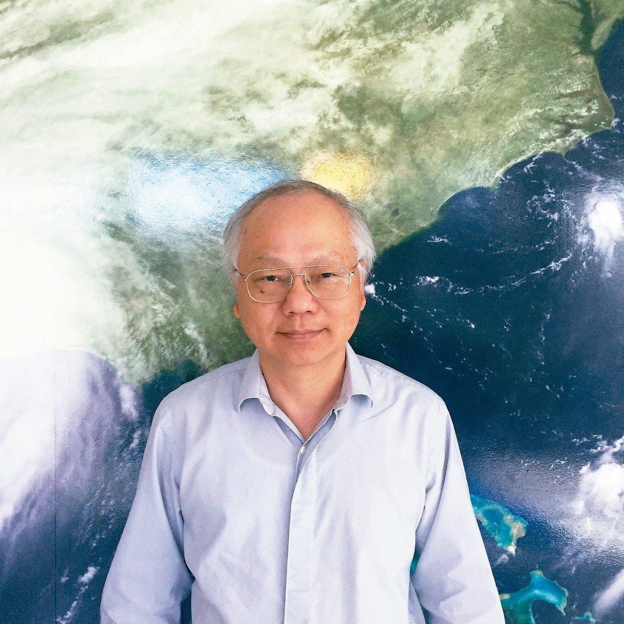 台灣旅美大氣科學家林先建設計美國下一代天氣預報系統。 圖/林先建提供