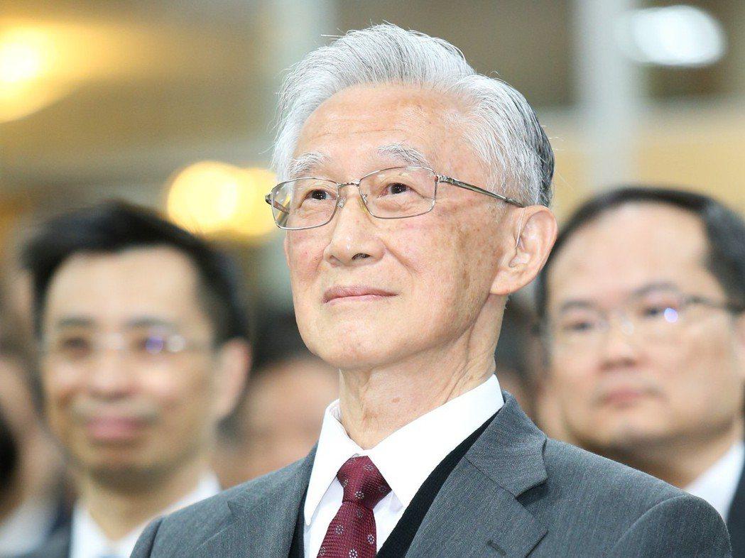 監察院前院長陳履安。圖/聯合報系資料照片