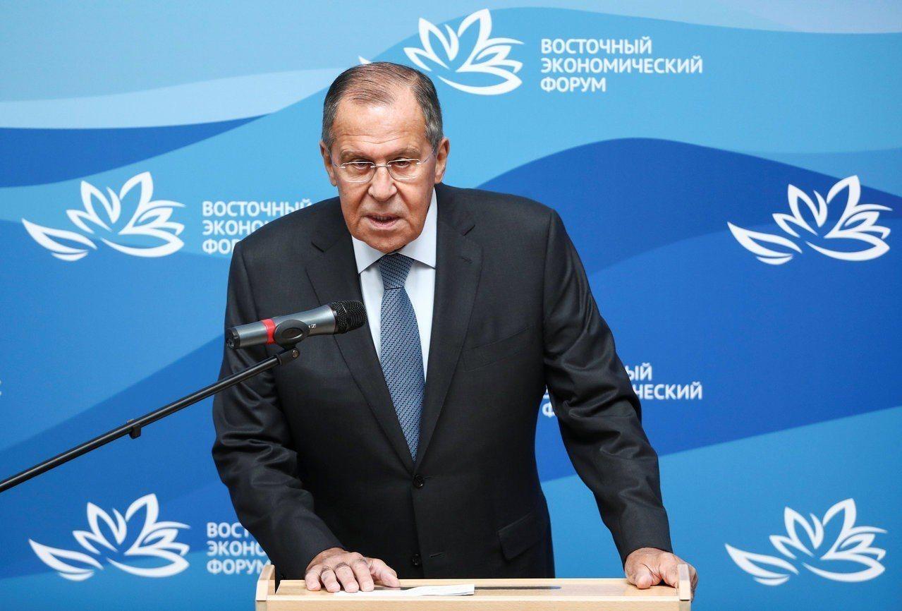 俄羅斯外交部長拉夫羅夫(Sergei Lavrov)。 路透社