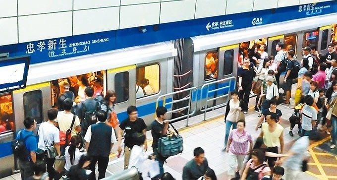台北捷運是大台北地區民眾出行、購物、旅遊重要的交通運具,也是很重要的地標之一。圖...
