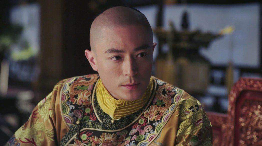霍建華演出「如懿傳」。圖/愛奇藝台灣站提供