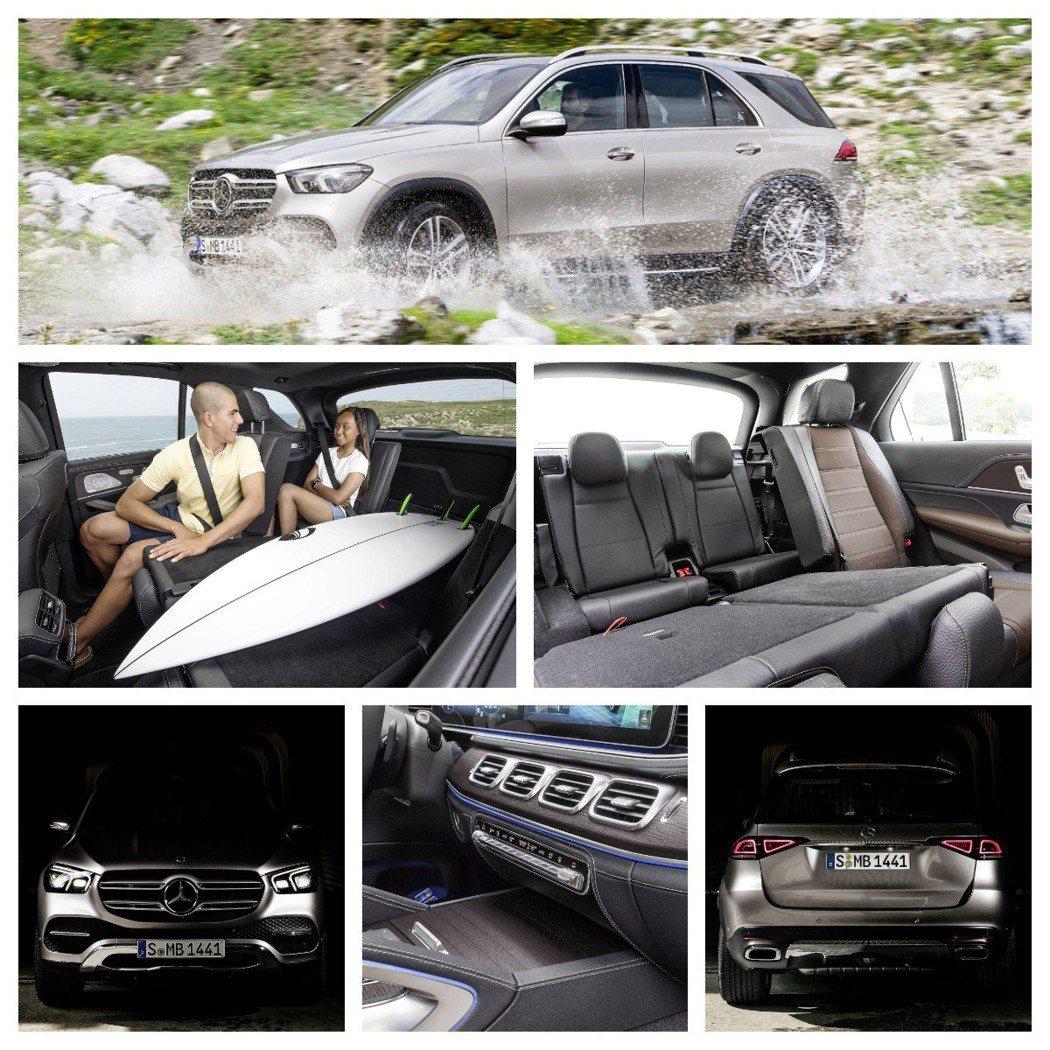 GLE可以提供車主日常使用下多功能的體驗。 摘自Mercedes