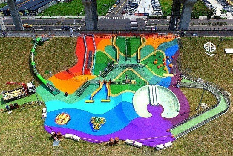 三重大台北都會公園。 圖/取自「我的新北市」臉書