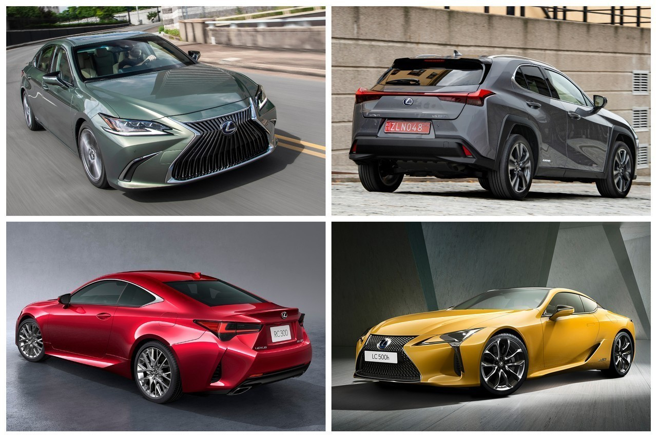 Lexus巴黎參展陣容超華麗 歐規UX將開放預訂