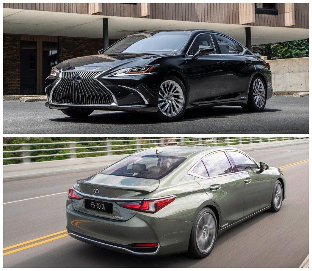 全新第七代Lexus ES。 摘自Lexus