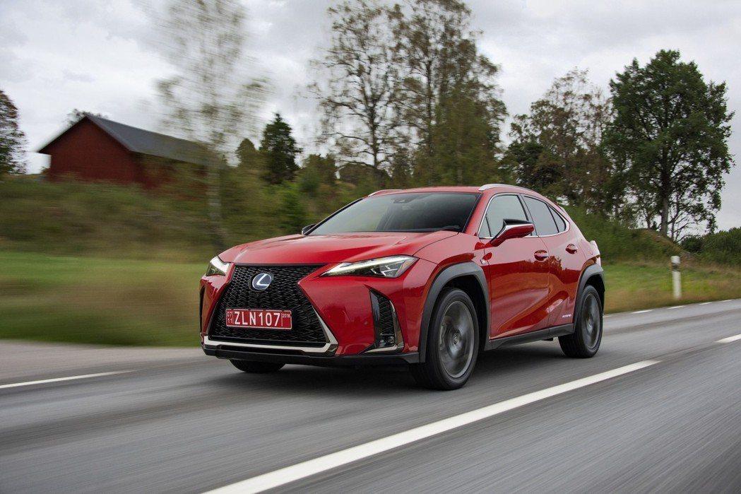 全新Lexus UX。 摘自Lexus