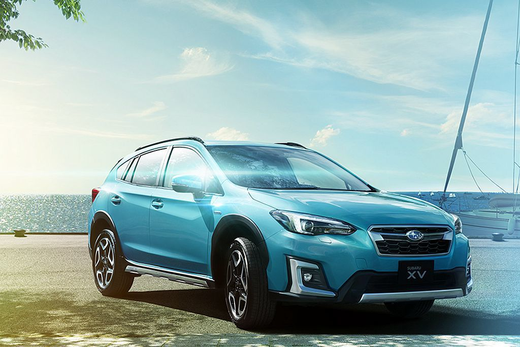 日本Subaru汽車新增XV Advance車型,並配上專屬「珊瑚珍珠藍」車色。 圖/Subaru提供