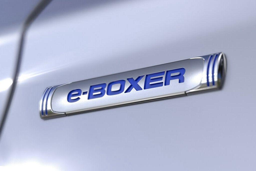 延續第五代Subaru Forester的車型編成模式,XV新增的Advance車型就是搭載了e-BOXER Hybrid複合動力系統。。 圖/Subaru提供