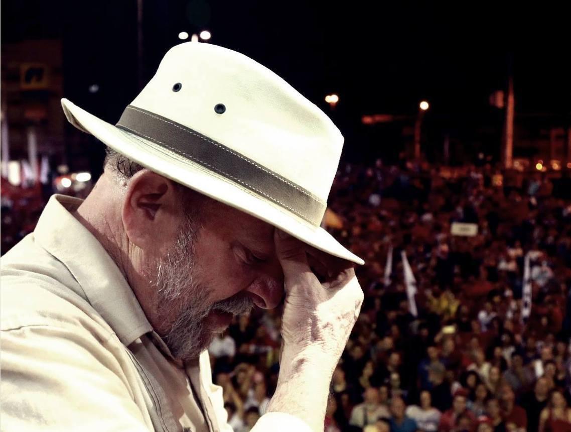 因涉嫌貪腐而遭判12年有期徒刑的前巴西總統魯拉(Luiz Inácio Lula...