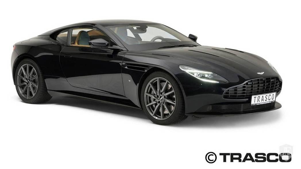 Trasco改裝的Aston Martin DB11防彈版本。 摘自Trasco