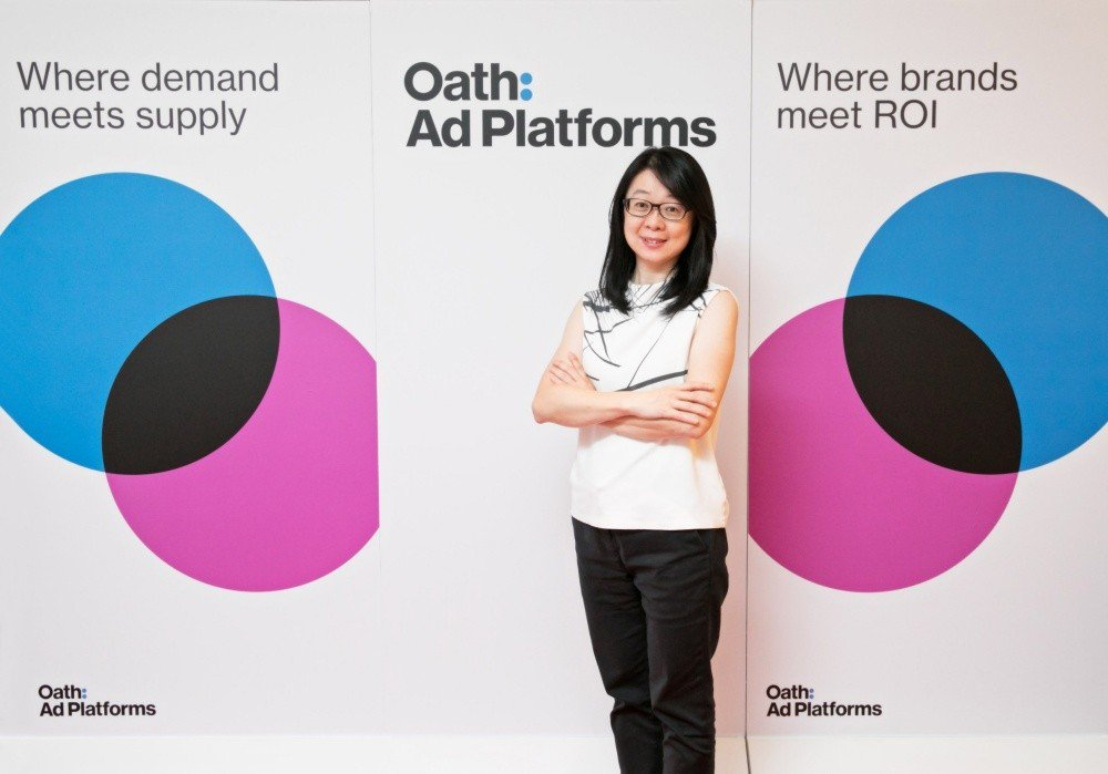 Oath亞太區廣告平台負責人趙慧芬