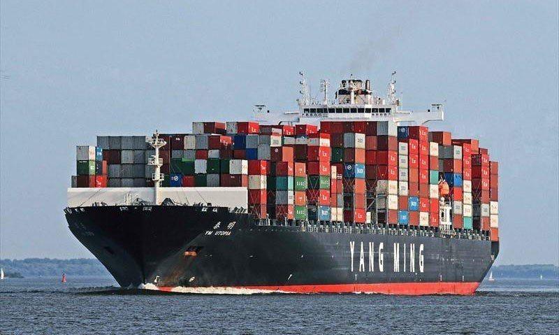 陽明將「泰明輪」售後租回以減輕財務壓力。 翻攝自Marinetraffic.co...