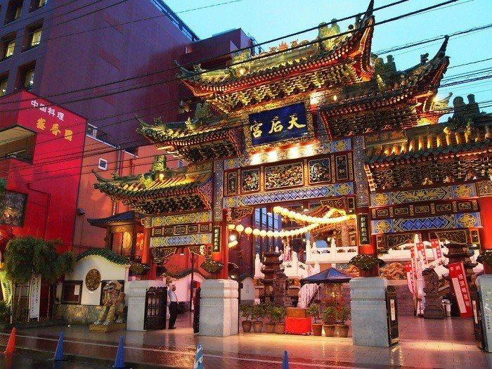 橫濱元町中華街。 圖/Flickr