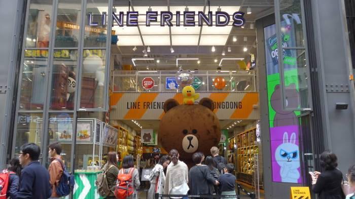 LINE FRIENDS 明洞店 media.timeout.com