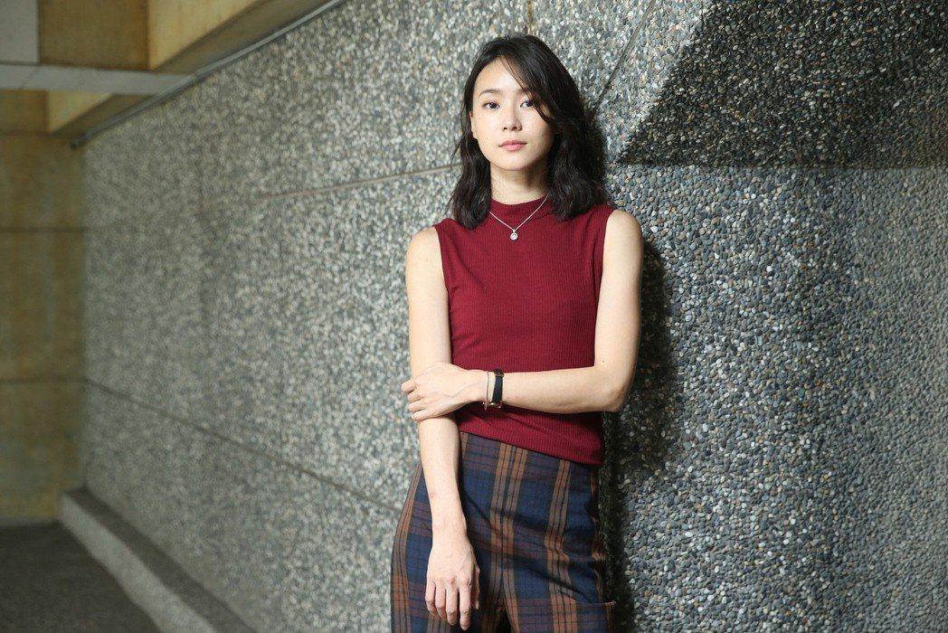 鍾瑶以「替身」入圍金鐘迷你劇女主角。記者余承翰/攝影