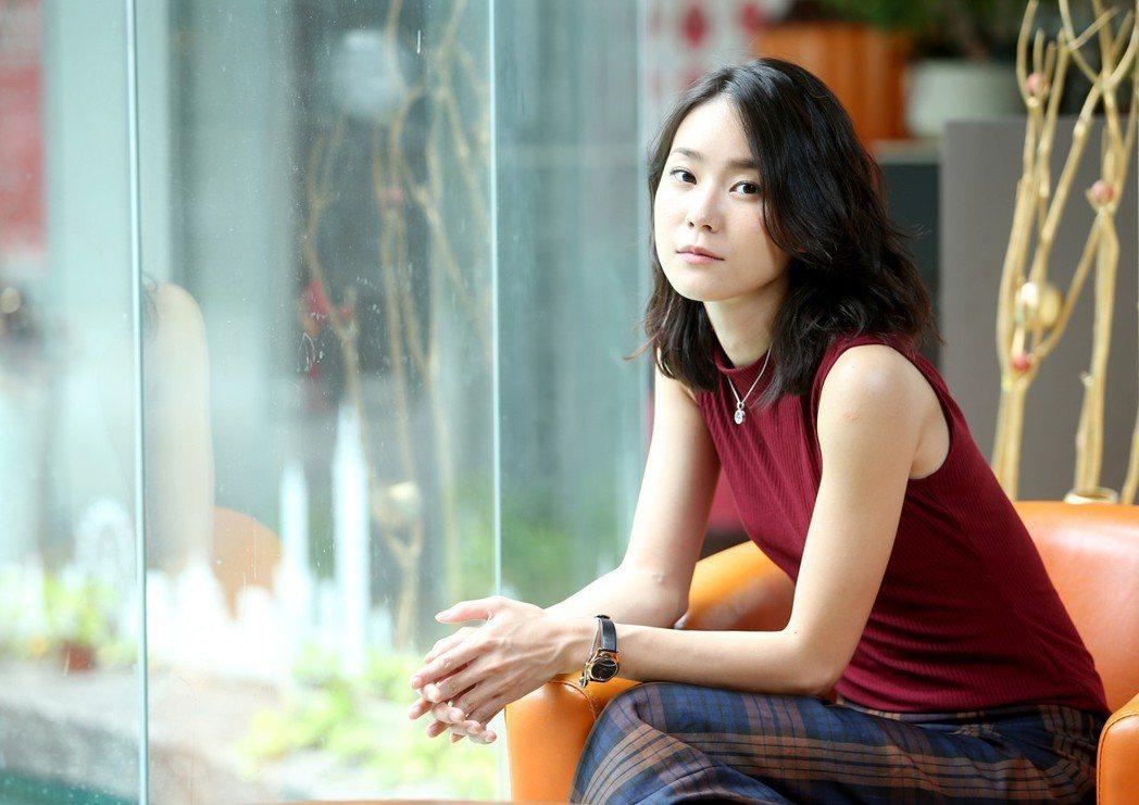 鍾瑶從模特兒轉戰演員逐漸有名氣。記者余承翰/攝影