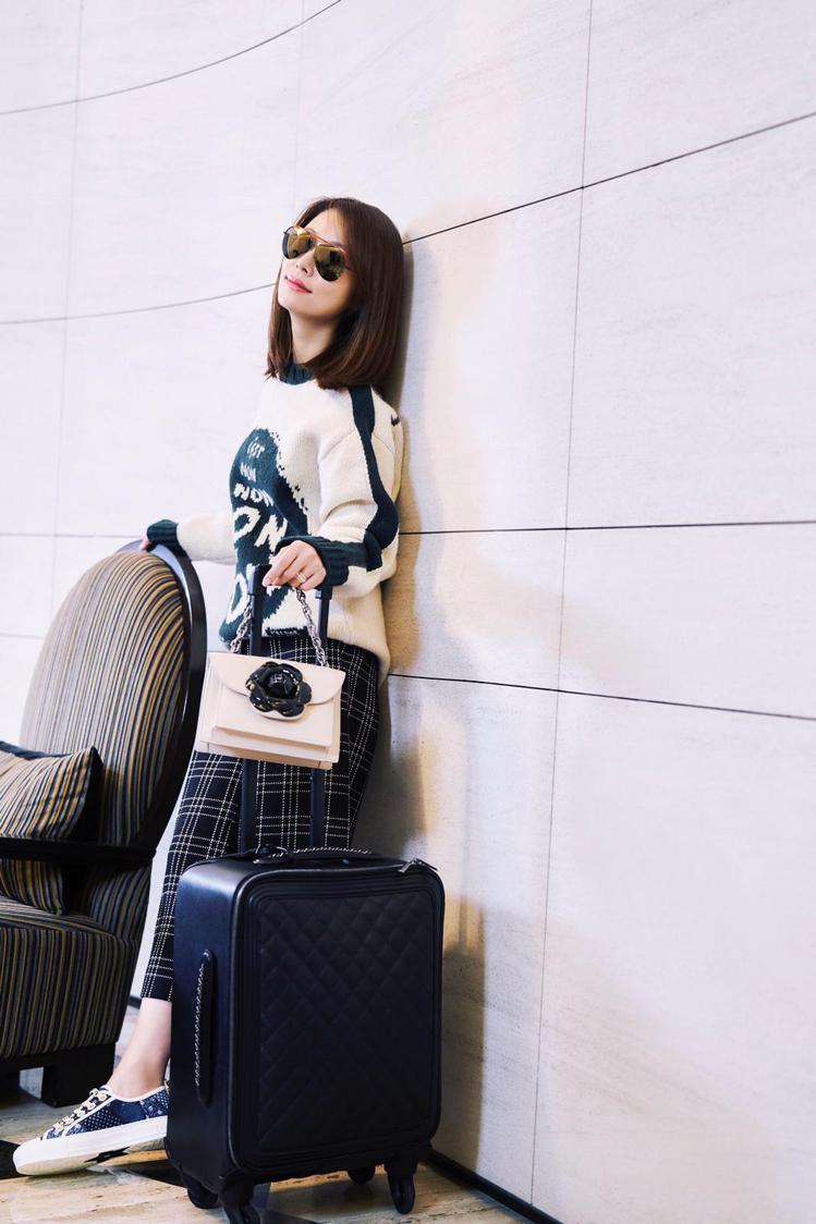 林心如獲品牌邀約出席紐約時裝周。圖/林心如工作室提供