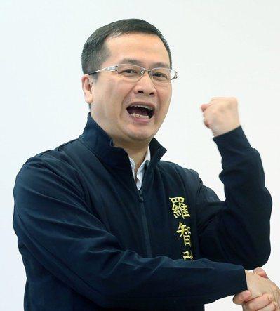 前總統府副秘書長羅智強。 圖/聯合報系資料照