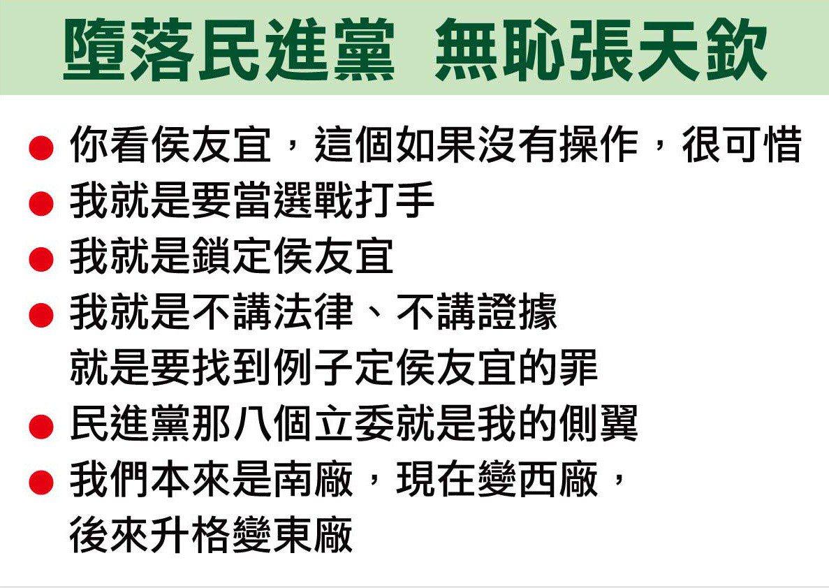 促轉會會議內容摘要。圖/國民黨團提供