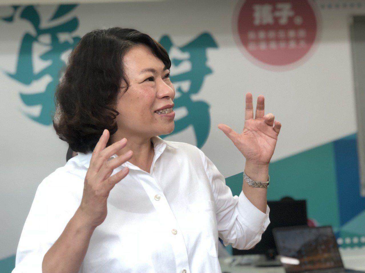 黃敏惠說,市長是城市的大家長,就像父母對家庭的付出,不會掛在嘴邊,都覺得是份內事...
