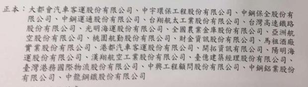 退輔會詳列17家公股、公營事業要求清查轄內領有退休俸的員工,包漢翔、台灣高鐵都在...