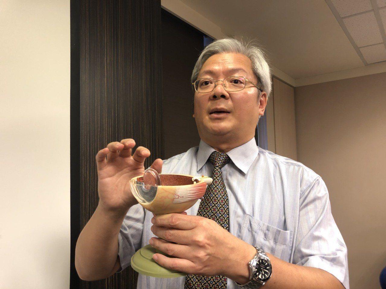 書田診所眼科主任醫師廖昶斌說,接受白內障手術治療的患者,有多達8成會問「之後還需...