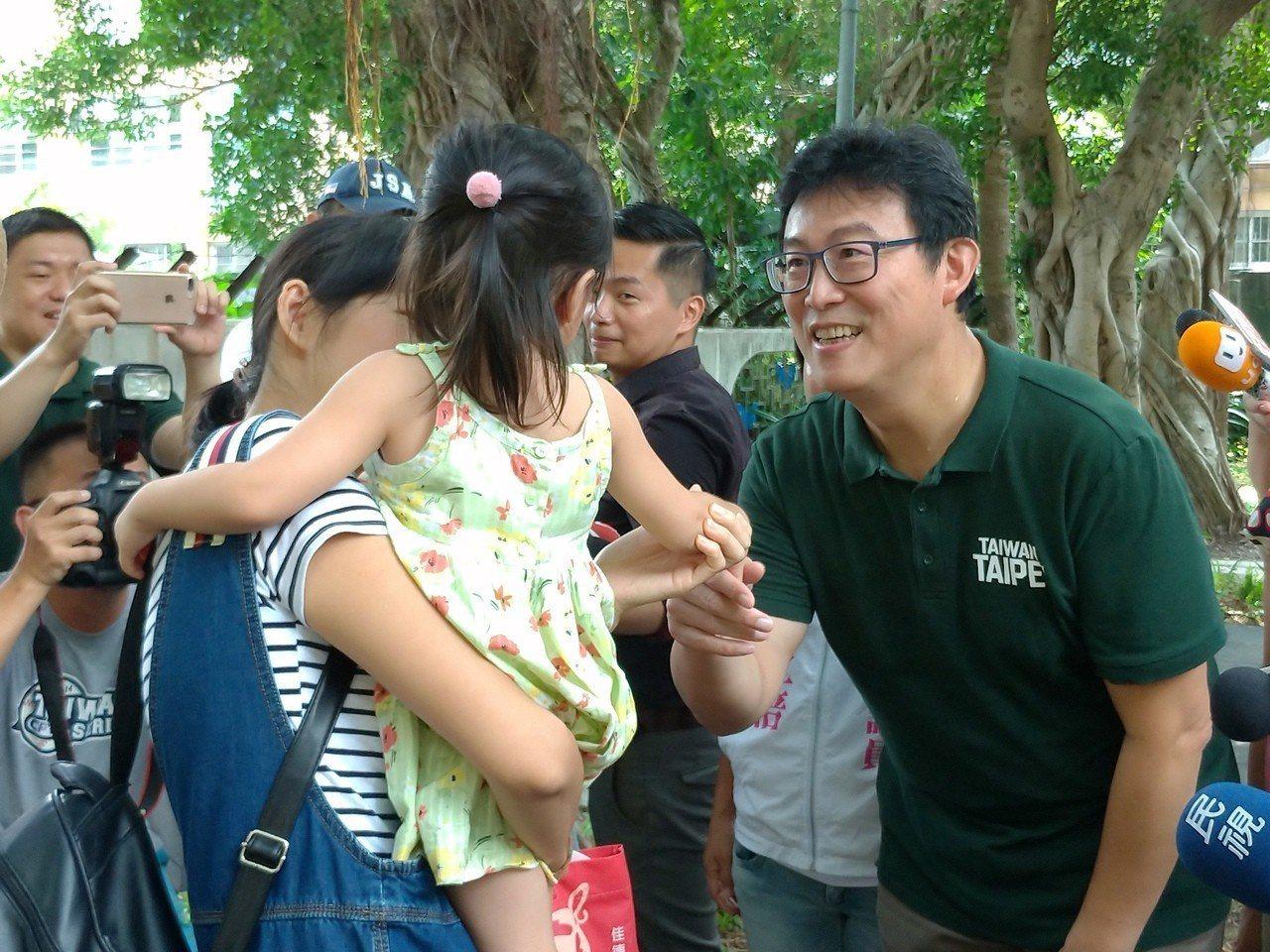 民進黨台北市長參選人姚文智。聯合報系記者莊琇閔/攝影