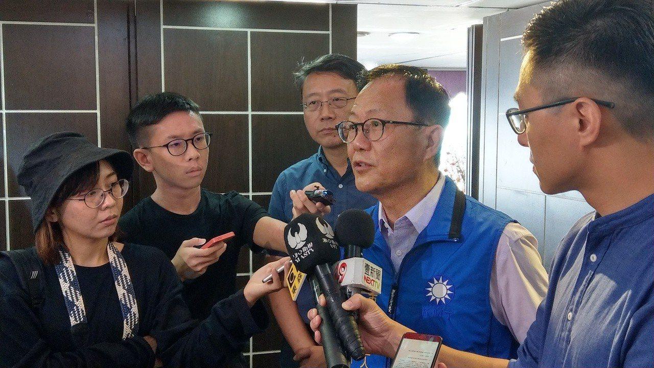 國民黨台北市長參選人丁守中。記者楊正海/攝影