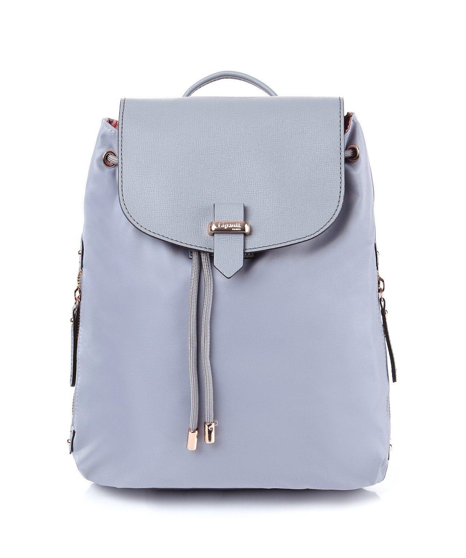 PLUME AVENUE後背包,銀灰色(S),3,400元。圖/Lipault提...