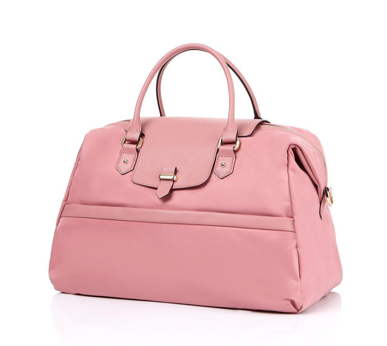 PLUME AVENUE行李袋,嬰兒粉,4,200元。圖/Lipault提供