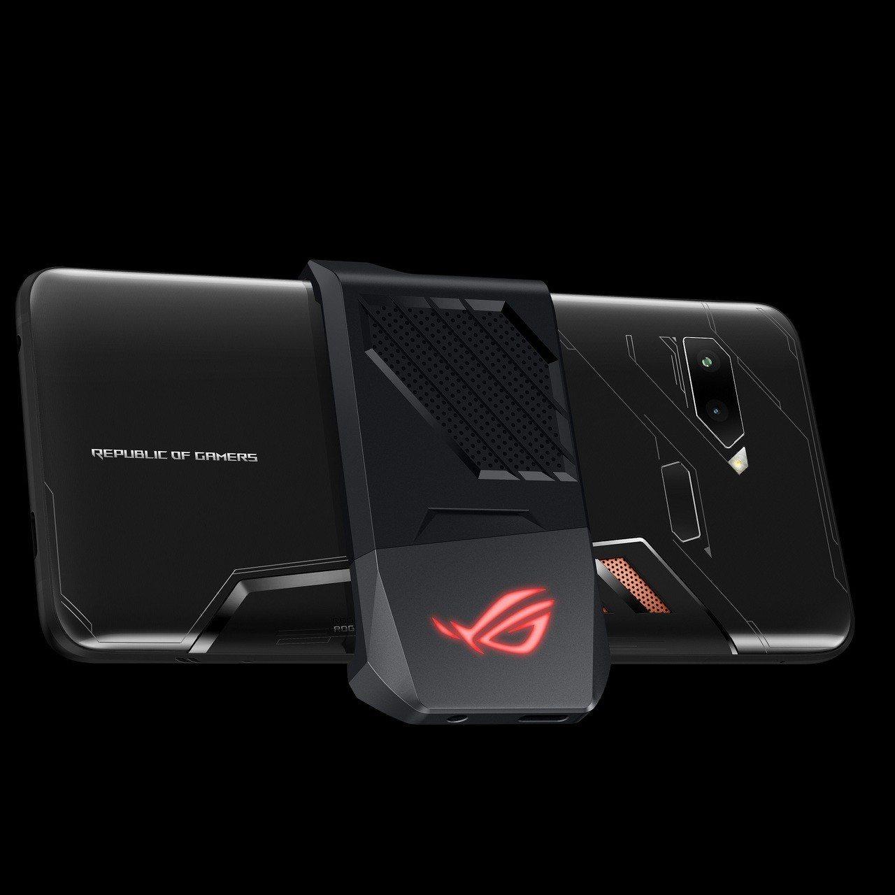 華碩首款電競手機ROG Phone即將上市。 圖/華碩提供