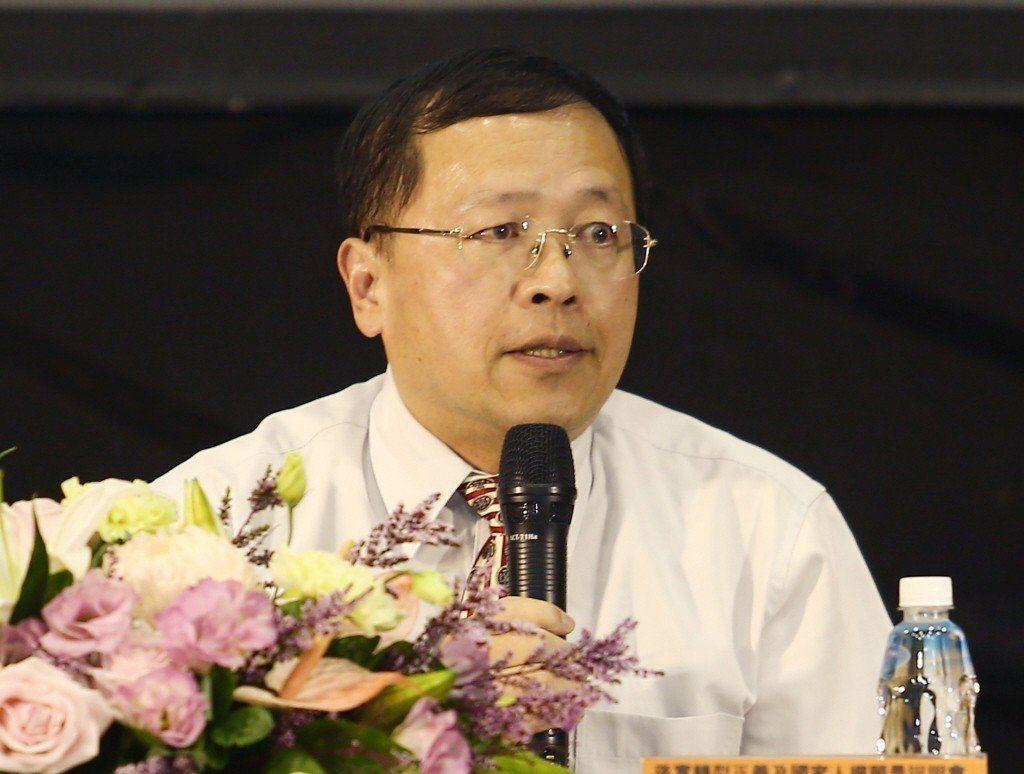 火速請辭的促轉會副主委張天欽。圖/聯合報系資料照