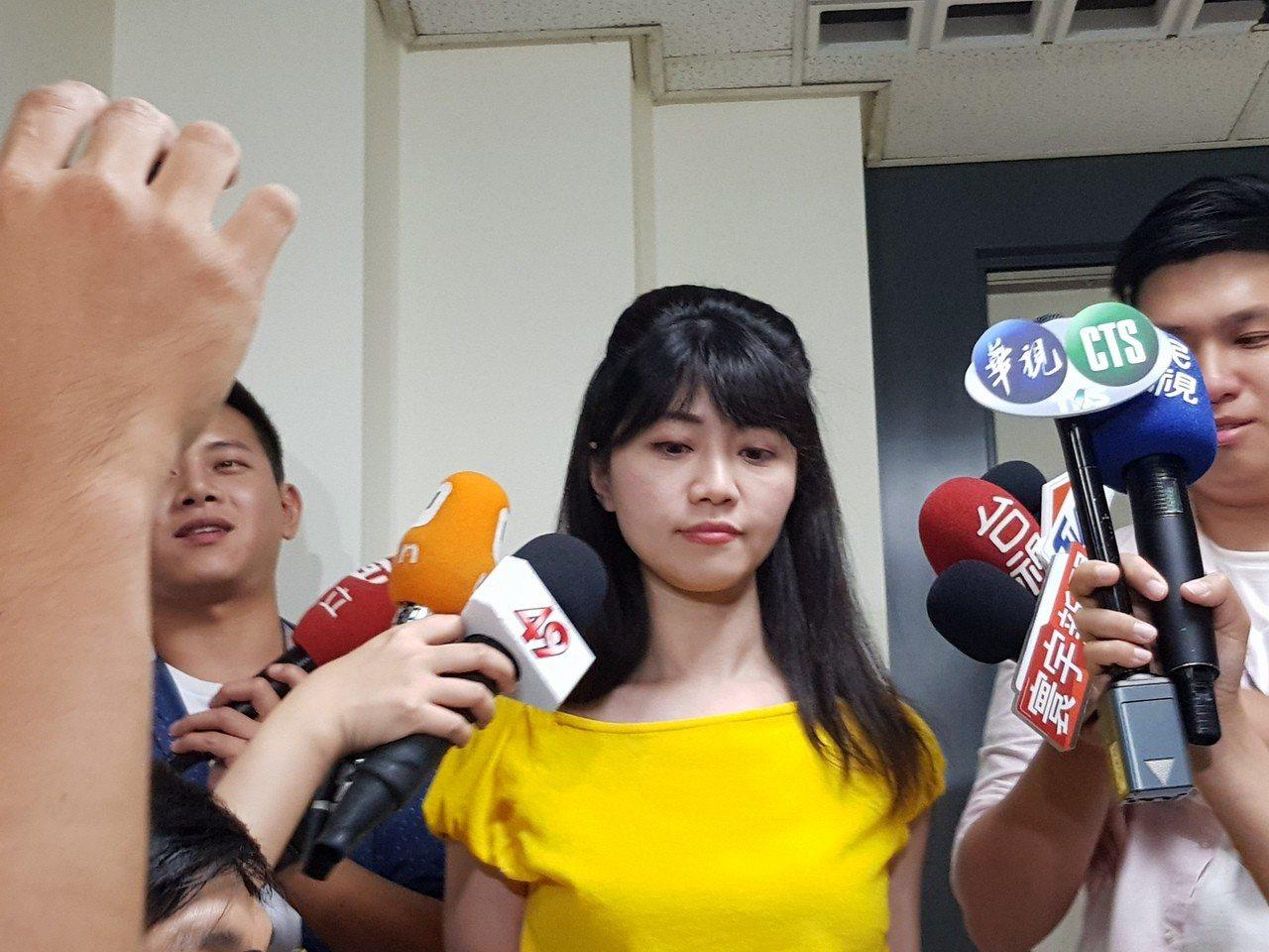 民進黨台北市內湖南港區議員高嘉瑜。本報資料照片 記者翁浩然/攝影