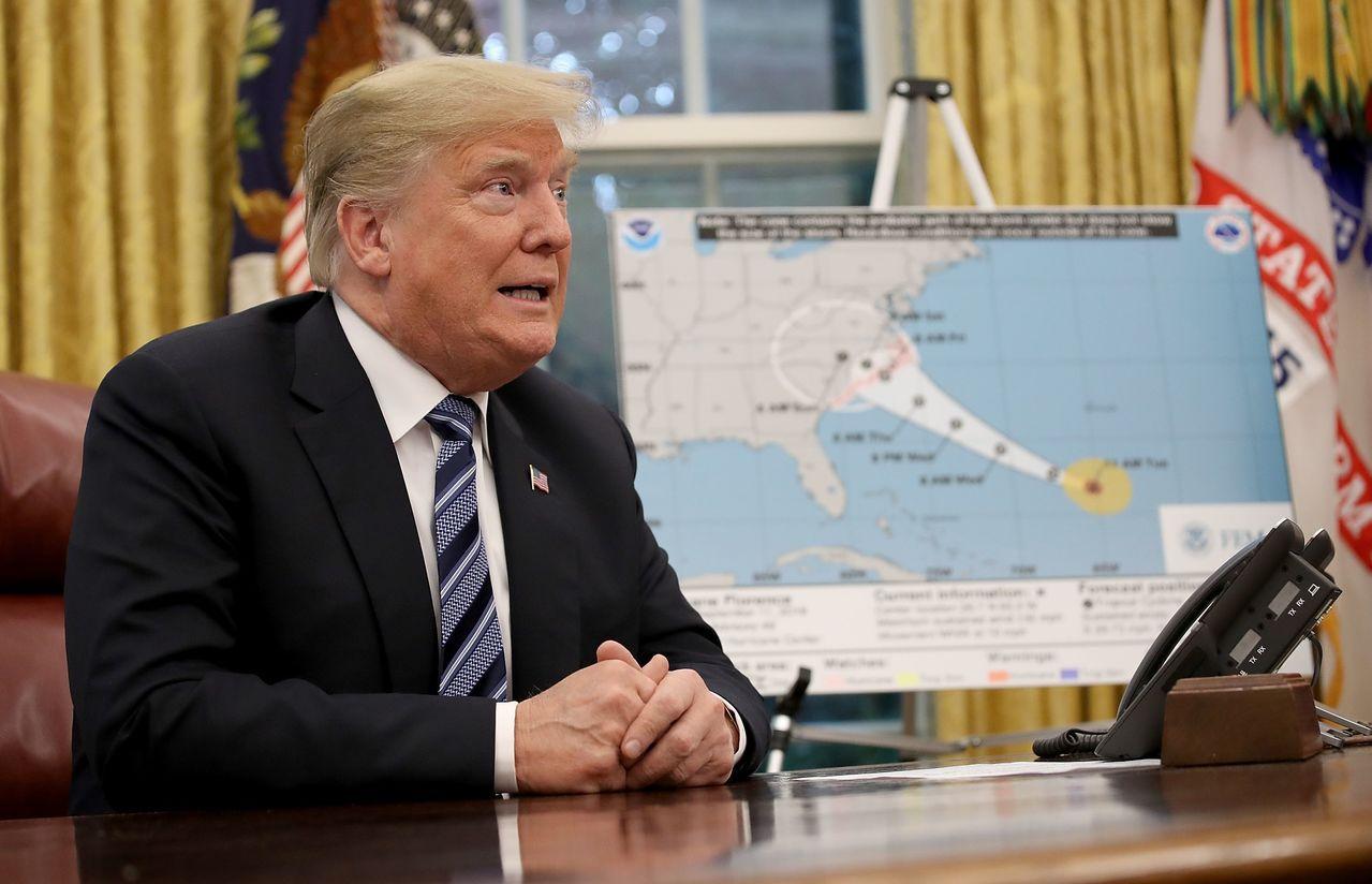 川普總統已宣布北卡、南卡和維州進入緊急狀態,讓這三州可以獲得聯邦援助,「聯邦政府...