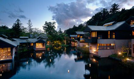 虹夕諾雅輕井澤是遠離煩囂、擁抱自然的頂級度假旅館。圖/翻攝自星野集團官網