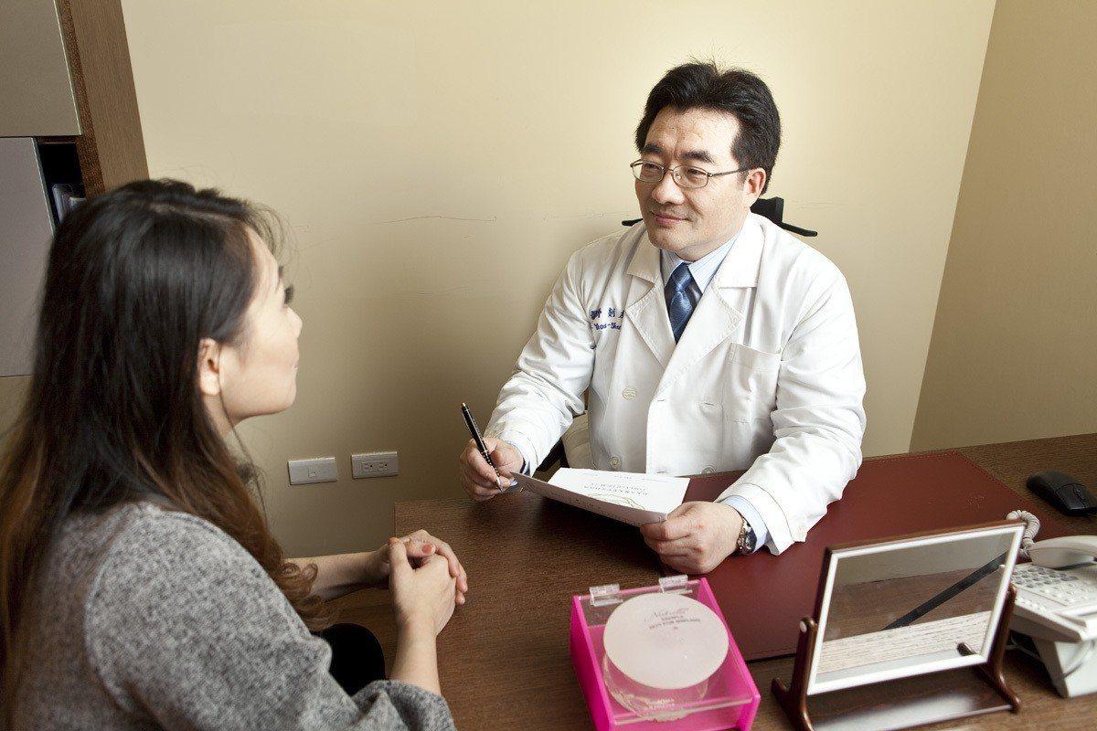女性隆乳前宜與醫師做好溝通,不要貪大。圖/剡友賢醫師提供