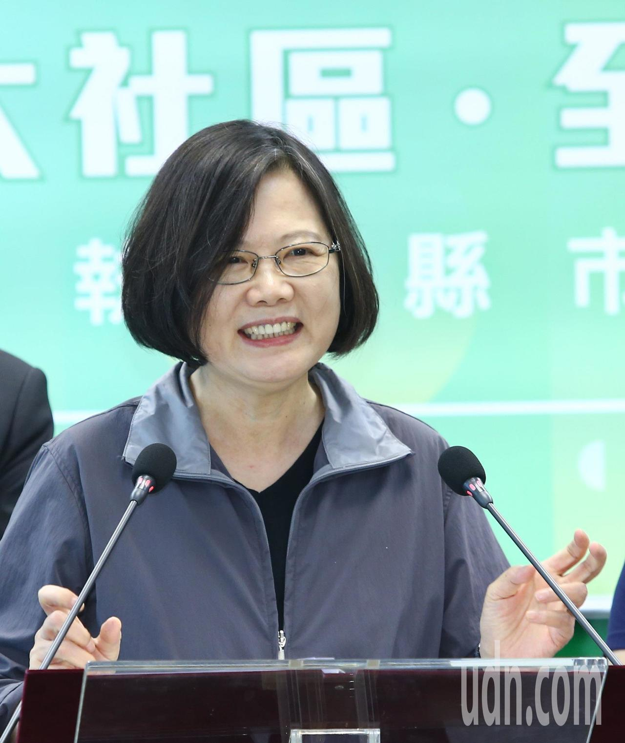 為期4天的政軍兵推落幕,國防部今天公布相關影片,總統蔡英文表示:「種種對台灣的打...
